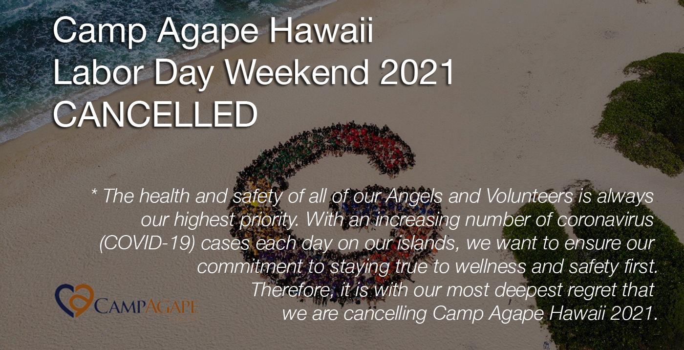 Camp Agape Hawaii 2021 Cancelled