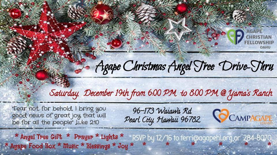 Agape Christmas Angel Tree Drive-Thru