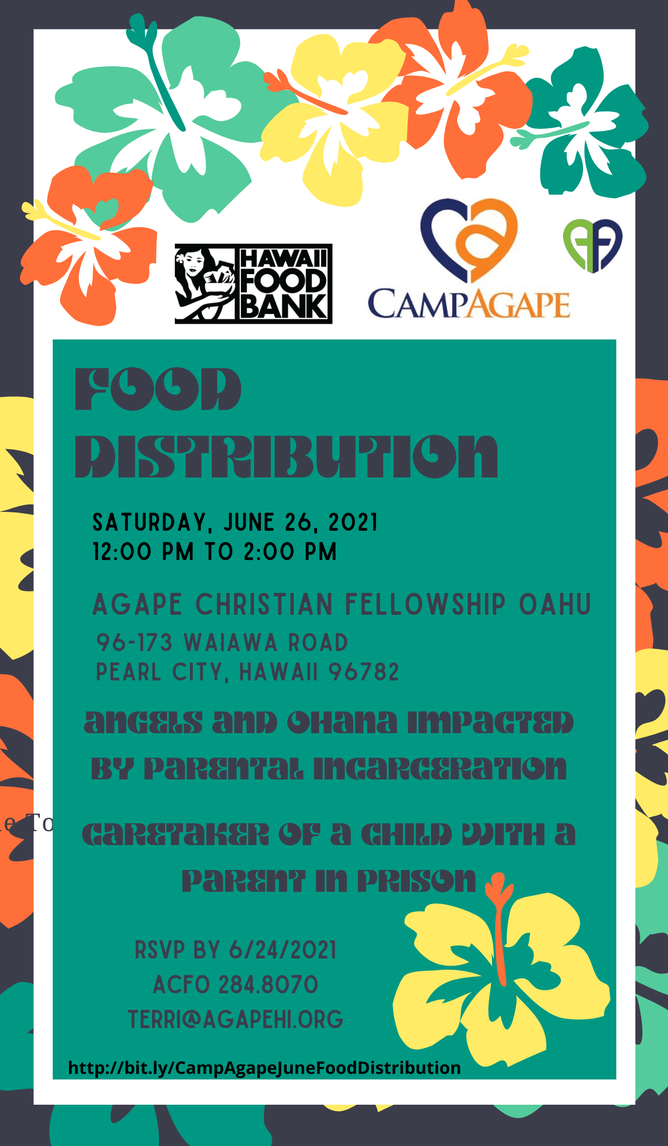 June 26, 2021 Agape Food Distribution